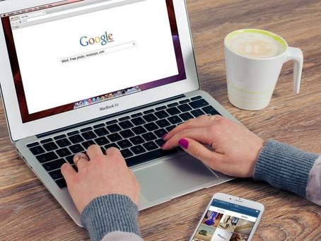 Crie um site para o Google
