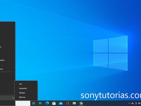 Como desligar um PC com Windows 10 sem usar o mouse