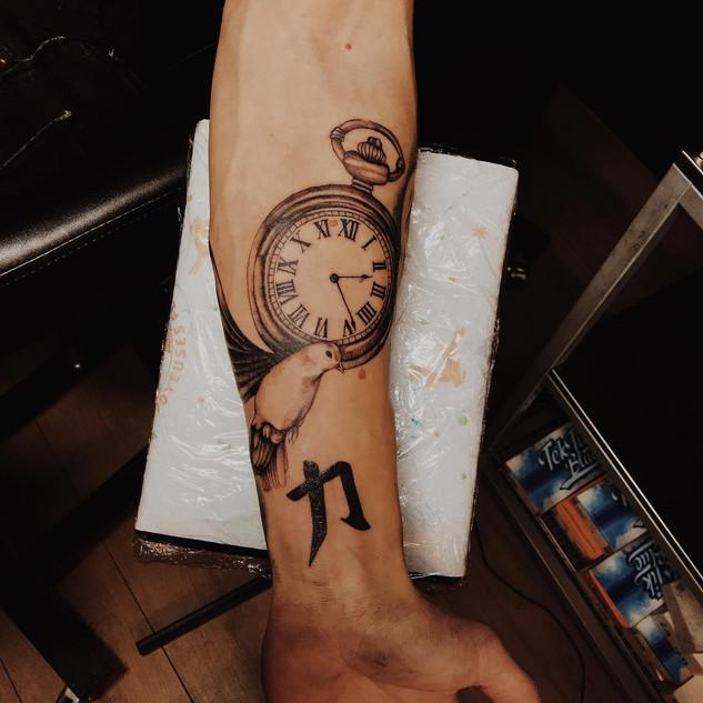 Clock (Sleeve in progress)