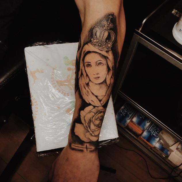 Mary (Sleeve in progress)