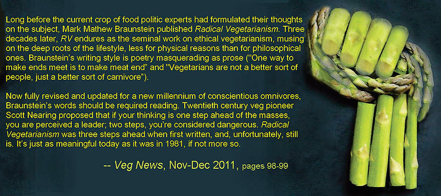Radical Vegetarianism by Mark Mathew Braunstein