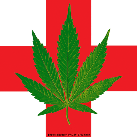 medical marijuana leaf