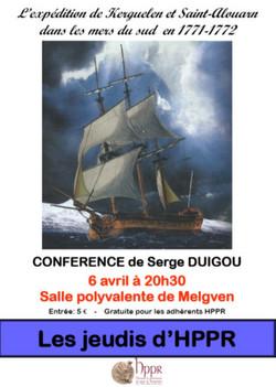 Serge DUIGOU : Kerguelen St Alouarn