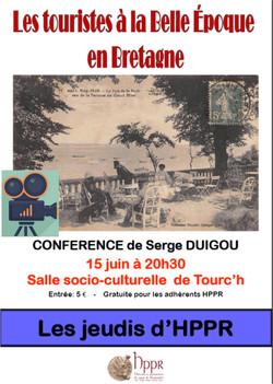 Serge DUIGOU: Touristes Belle époqu