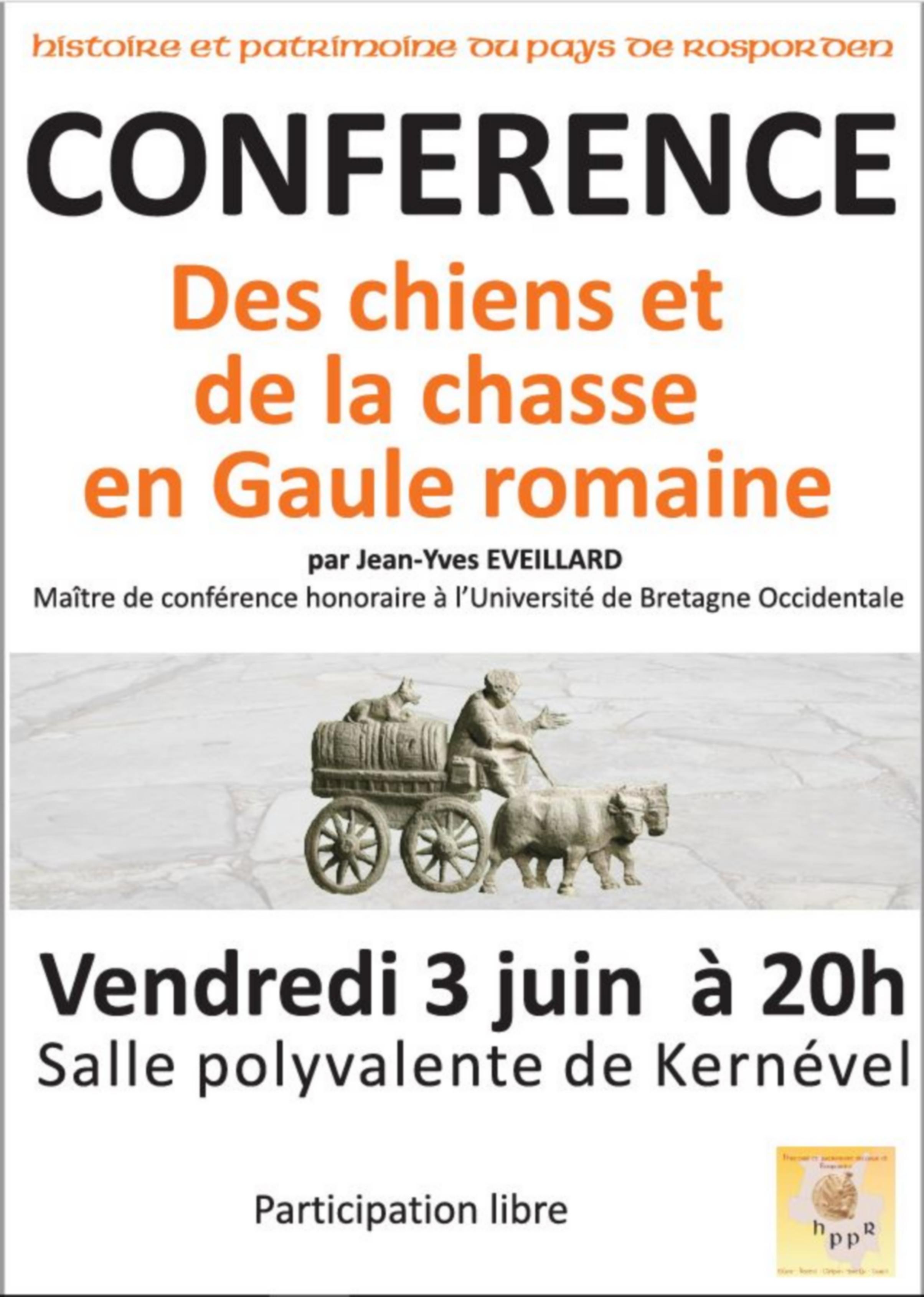 Jean-Yves EVEILLARD : Chasse romaine