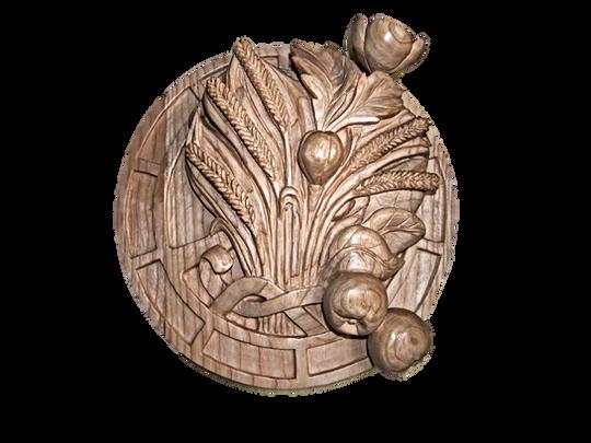 HPPR  Logo sculpture bois par Renan
