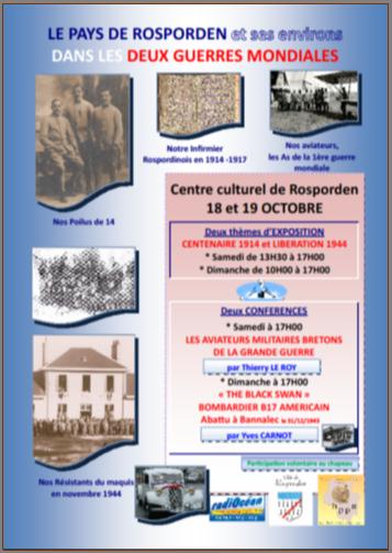 Centenaire 1914 & Septentenaire 1944