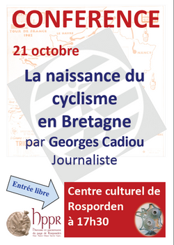 Georges CADIOU : Naissance Cyclisme