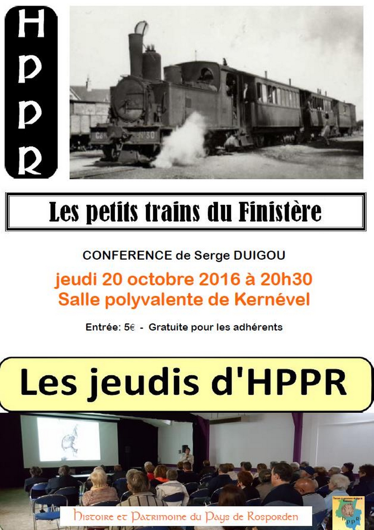 Serge DUIGOU : Petit train Finistère