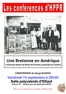 Conférence : Marie de Kerstrat