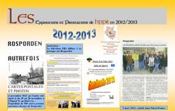 HPPR Ephéméride 2012-2013
