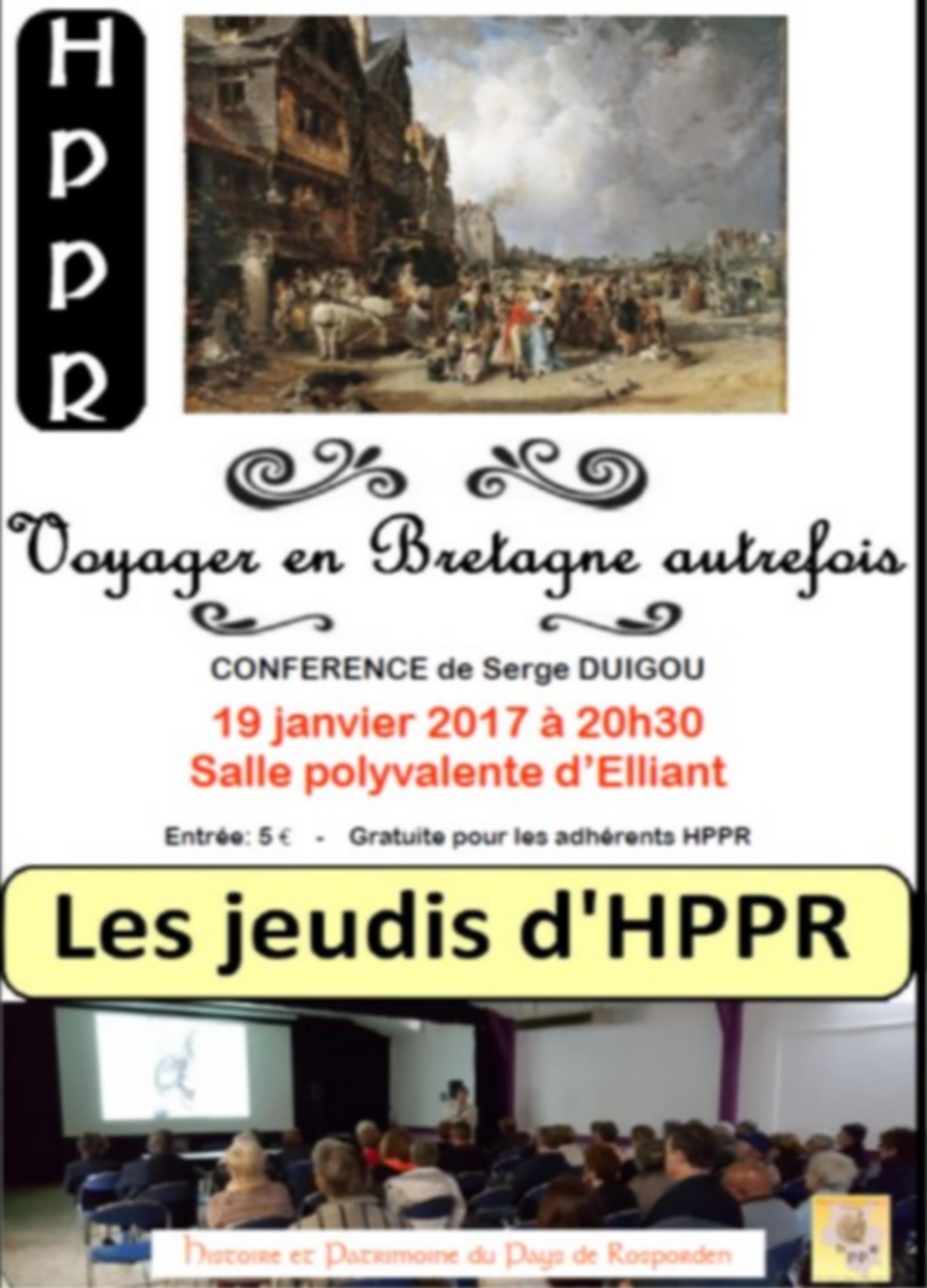 Serge DUIGOU : Voyager en Bretagne