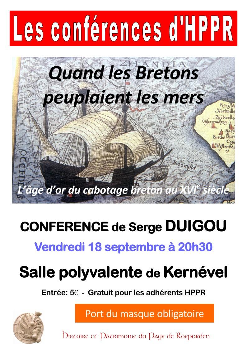 2020 09 18 DUIGOU Cabotage breton KERNEV