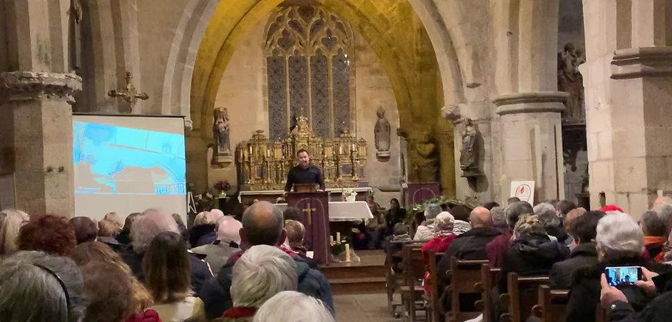 Concert CHANT, BOMBARDE& ORGUE à l'église le 14/12/2019 par Pêr Vari KERVAREC &Gwendal BARRE.