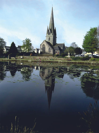 Eglise & étang