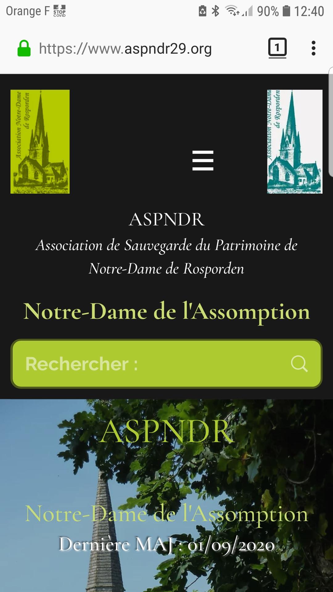 ASPNDR Accueil