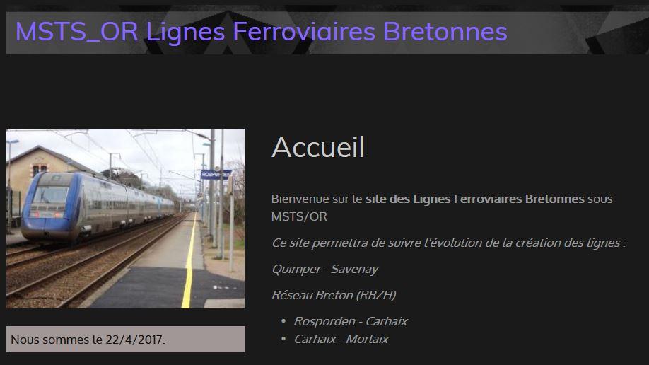 Bernard56 Train modélisé
