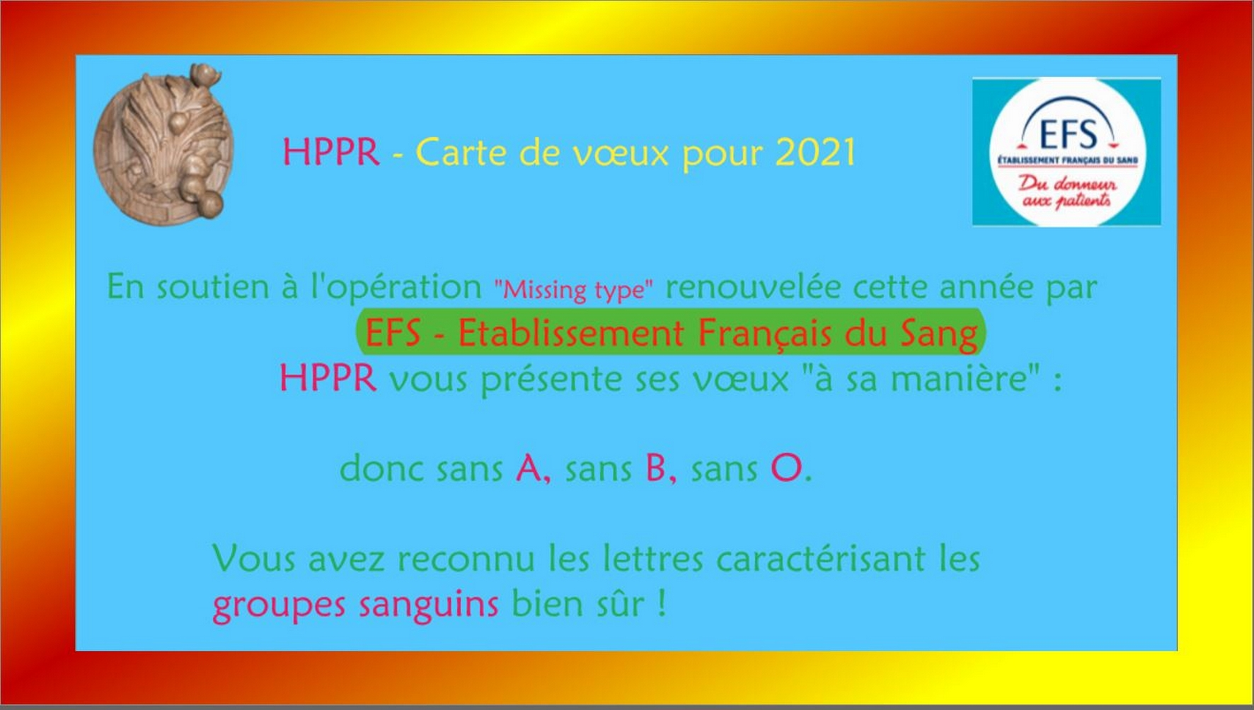 2021 HPPR Carte de Voeux