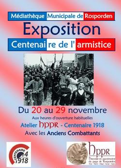 Centenaire de l'Armistice en 1918