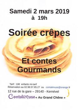 Soirée Contes & Crêpes