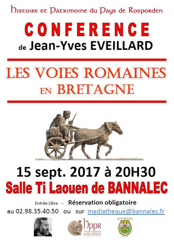 Jean-Yves EVEILLARD : Voies romaines