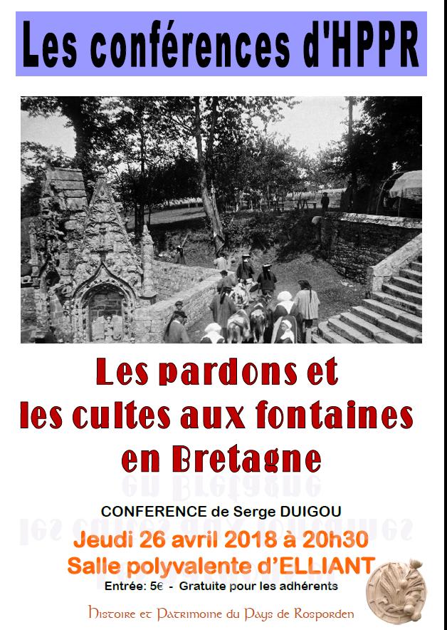 Serge DUIGOU : Cultes aux fontaines