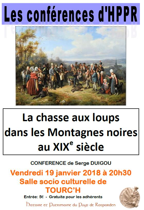 Serge DUIGOU : Chasse aux loups