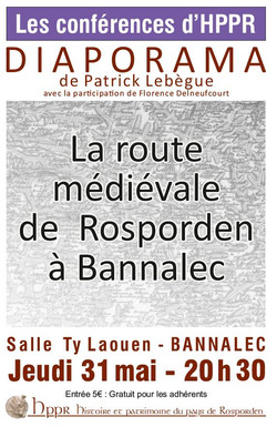 Patrick LEBEGUE Route médiévale