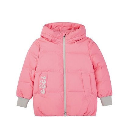 Girl's Quilted Bomber Down Jacket