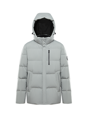 Men's Jacket with Detachable Hood