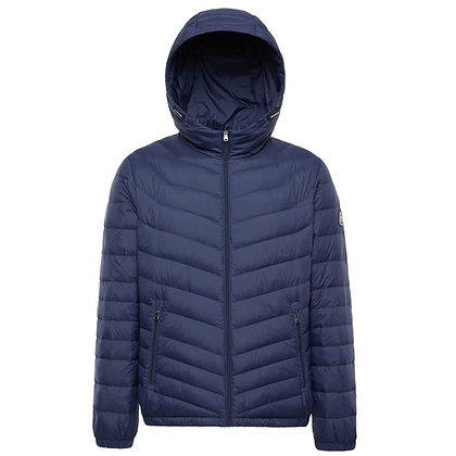 Men's Lightweight Packable Down Jacket with Hood