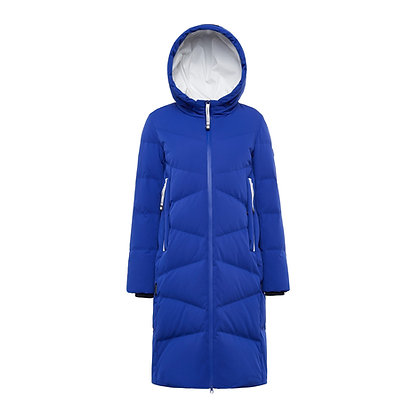 Women's Long Quilted Down Winter Jacket