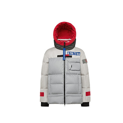 NASA Hooded Short Extra Thick  Jacket