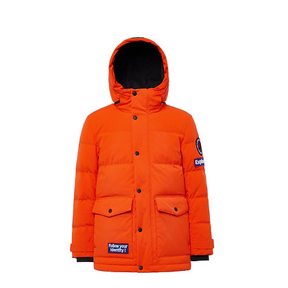 Men's Hooded Puffer Down Jacket