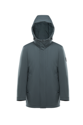 Men's Detachable Hood Jacket