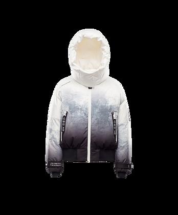 Women's Detachable Hood Cropped Jacket