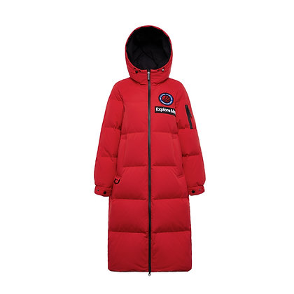 Swaney Hooded Goose Down Parka
