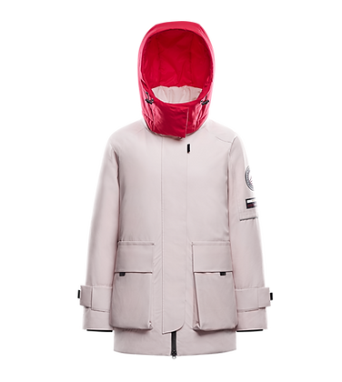 Women's Parka with Detachable Hood