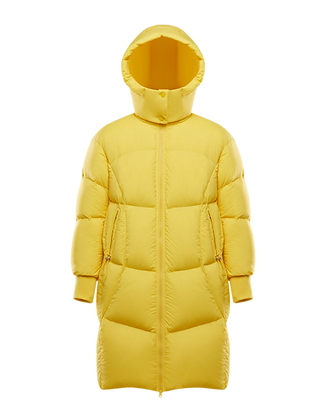Women's Detachable Hood Long Puffer Jacket