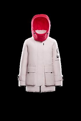 Women's Parka with Detachable Hood