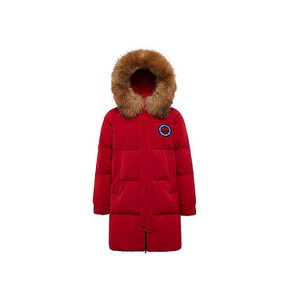 Henson Hooded Goose Down Long Parka