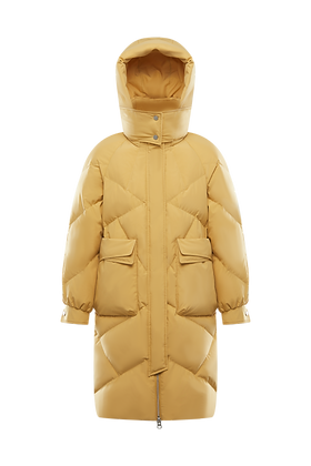 Women's Hooded Long Parka