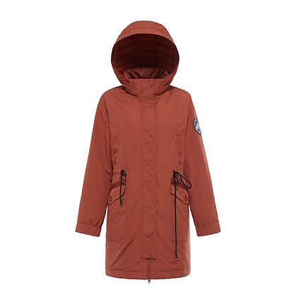 Women's Everyday Parka Style Hooded Down Jacket