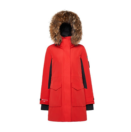 Hooded Goose Down Jacket