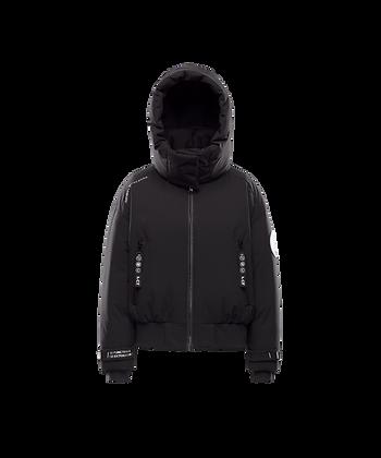 Men's Detachable Hood Cropped Jacket