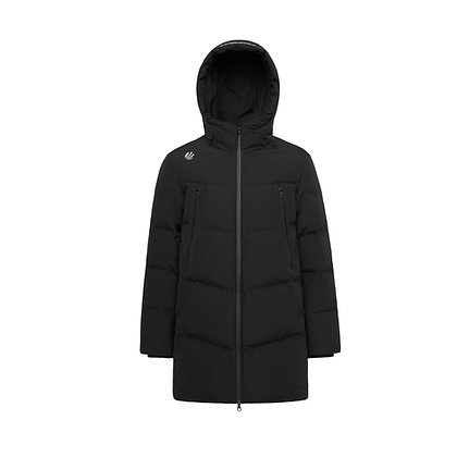 Hooded Long Goose Down Jacket
