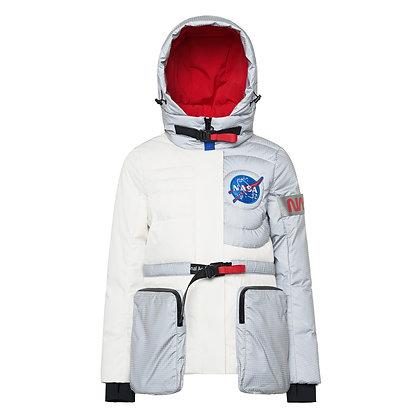 NASA Hooded Short Extra Thick  Jacket
