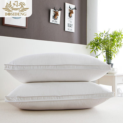 Luxurious Single Goose Down and Feather Pillow