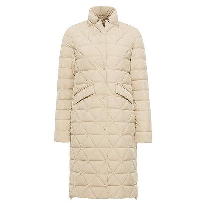 Women's Long Blazer Style Goose Down Jacket