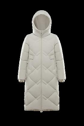 Women's Hooded Long  Parka